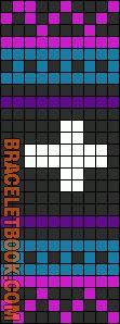 Alpha Friendship Bracelet Pattern #10233 - BraceletBook.com