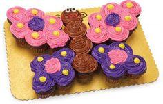 Butterfly Cupcake Cake Main menu