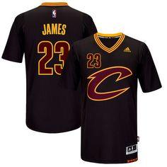 LeBron James Cleveland Cavaliers adidas Pride Swingman Jersey - Black