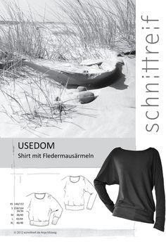 Schnittmuster Usedom Shirt Damen Schnittreif von Nähhimmel auf DaWanda.com