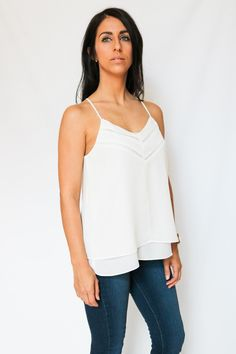 Minimal + Chic = Taylor Strappy Top