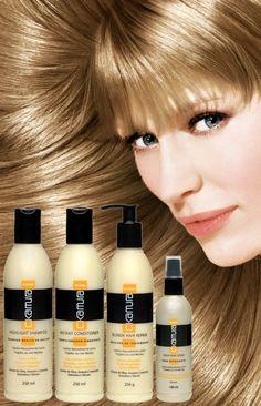 C. Kamura Blond, linha especifica para cabelos loiros!