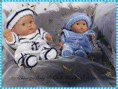 "Sailor Romper Set 8 & 10"" Chubby Berenguer Doll-chubby berenguer,sailor, romper, baby, doll"