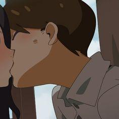 Aesthetic Drawing, Aesthetic Anime, Yandere Girl, Anime Friendship, Pop Art Wallpaper, Sailor Moon Manga, Manga Cute, Anime Love Couple, Couples Images