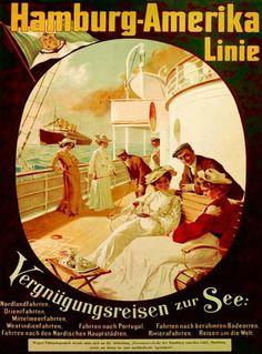 Hamburg-Amerika Linie Vergnuegungsreisen 1904