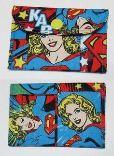 Supergirl coin/card purse.