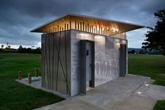 Auckland Council Amenities by Archoffice was a winner in the Small Project Architecture category.