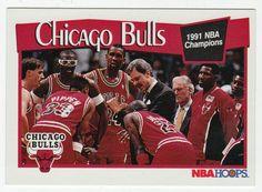 Chicago Bulls # 277 - 1991-92 Skybox Hoops Basketball