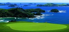Golf course Kauri Cliffs, New Zealand, one of the best I have ever  played