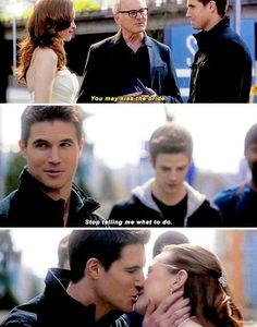Thus marks the last time Caitlin Snow was happy in The Flash The Cw Shows, Dc Tv Shows, Supergirl Dc, Supergirl And Flash, Flash Funny, Flash Barry Allen, Superhero Shows, The Flash Grant Gustin, Cw Dc