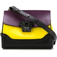 Versace Medusa Colour Block Shoulder Bag Versace Purses bf5e405c95f2c
