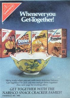Nabisco Snack Crackers Ad