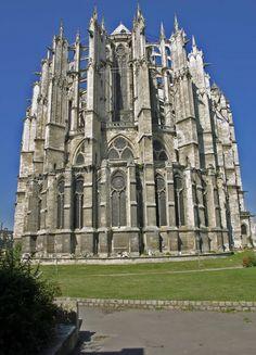 Cathedrale de Beauvais. Picardie, France