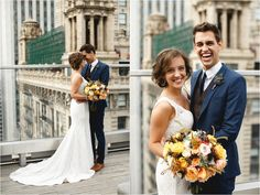 Downtown Chicago: BLAKE + NICOLE (Salvage One, Chicago) - Janelle Elise photography
