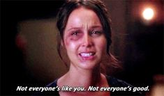 """Grey's Anatomy 9x23 - Readiness is all. """"Not everyone is like you. Not everyone is good."""" Jo Wilson"""