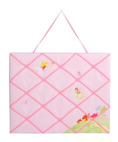 Woodland Fairy Noticeboard by Inspirational Bedrooms- use different woodland material.
