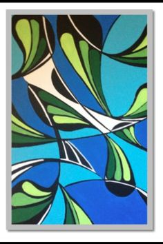 """Bali"" 16x20in. Acrylic on canvas.2013"