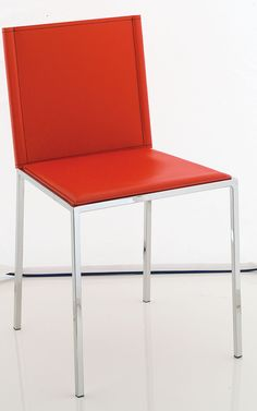 Sedia in metallo cromato o satinato Art.5821 | Sedie e Tavoli