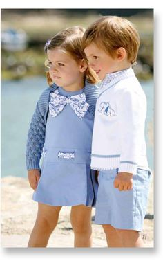 Children and Young Family Outfits, Boy Outfits, Little Boy Fashion, Kids Fashion, Toddler School Uniforms, Boy Girl Twins, Beautiful Children, Matching Outfits, Kids Wear