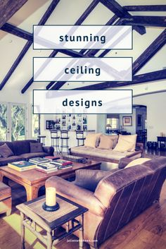 Stunning ceilings to replicate in your home!