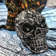 Mark Montano: Decorative Halloween Skulls