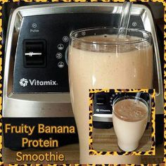 Fruity Banana Protein Smoothie  I bought a bunch of organic bananas so I tossed one of the fresh ones in a smoothie. Monkey approved!  1 cup coconut water  2 Tblsp non dairy yogurt  1 orange  1 large fresh organic banana  1 scoop plant protein powder  2 tsp chia seeds  2/3 cup frozen pineapple  1/3 cup ice  Blend in Vitamix  #vitamix #vegan #healthy #foodisthymedicine #foodfornutrition #foodisnutrition #keepitreal #homemade #smoothie #plantstrong #plantbased #whatveganseat #govegan…