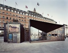 Ferry Terminal (2013) in Stockholm, Sweden by  Marge Arkitekter