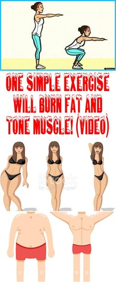 ONE SIMPLE EXERCISE WILL BURN FAT AND TONE MUSCLE! (VIDEO)