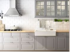 Grey Ikea Kitchen!: