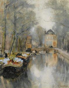 Floris Arntzenius (1864-1925) - Het Smidswater (eind 19e eeuw).