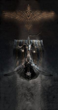 Viking And Military Themed Designs And Merchandise. by VikingWarriorDesign Norse Mythology Tattoo, Norse Tattoo, Celtic Tattoos, Norse Runes, Norse Pagan, Old Norse, Viking Art, Viking Symbols, Viking Woman