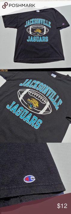 fabe05e843 Jacksonville Jaguars Champion graphic tee Big graphic NFL Jacksonville  Jaguars old school mens Champion t-