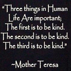 Kindness matters!