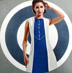 Neue Mode December 1966  via magdorable