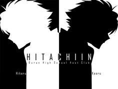 Hikaru & Kaoru The HItachiin Twins and Brothers