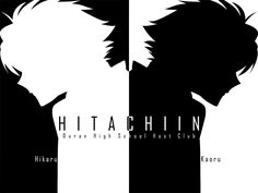 Hikaru & Kaoru The HItachiin Twins and Brothers one of my favorite representations of them