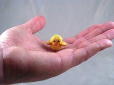 """""""Chicken Really Really Really Little""""...I Love Teeny-tiny Amigurumi!"""