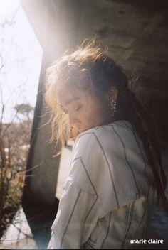 Style Korea: The Art of Korean Fashion • F(x)'s Krystal for Marie Claire Korea January...