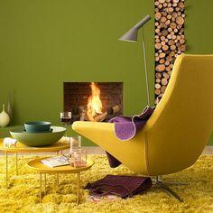 Яркие краски осени: 25 вариантов гармоничных сочетаний цветов для интерьера