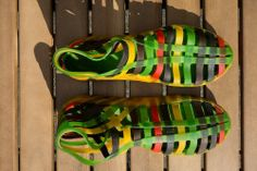 Yellow, Black, Green & Red 38