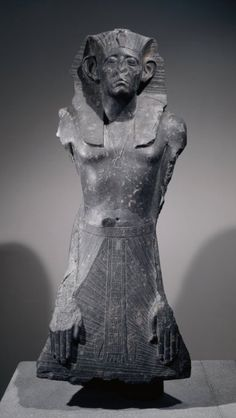Statue of Ruler Senusret III, 12th Dynasty Ancient Egypt, 1874 BC-1855 BC  The British Museum