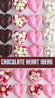 Hot Chocolate Gifts, Chocolate Candy Recipes, Chocolate Bomb, Hot Chocolate Bars, Chocolate Hearts, Chocolate Molds, Homemade Chocolate, Chocolate Covered Strawberries, Chocolate Covered Treats
