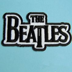The Beatles patch band patch Embroidery Applique Embroidered patches term logo iron on letters iron on patch sew on patch 84.6cm(A94)
