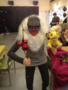 my rafiki costume lion king