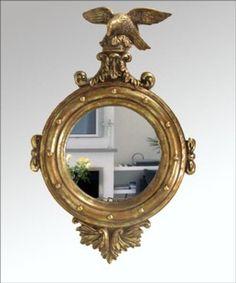 RMB 358 欧式镜大自然风格浴室镜老鹰镜风水家居装饰化妆镜玄关装饰镜子-淘宝网