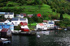 Aurlandfjord,Norway