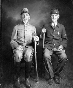 Civil war brothers on different sides of the war.