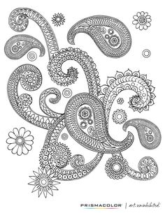 Did you know that the Michael's website has free coloring pages that you can print and color in at home? Find this design and lots more to feed your color craving! FREE Adult Coloring Pages make me happy! :P