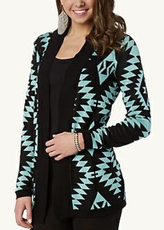 Aztec Duster | Sweaters | rue21 | My Style | Pinterest | Dusters ...