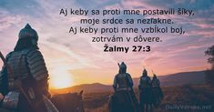 Žalmy 27:3 - DailyVerses.net Biblia Online, Psalm 27, Rise Against, New King James Version, Daily Bible, Verse Of The Day, Bible Verses, Confidence, Android